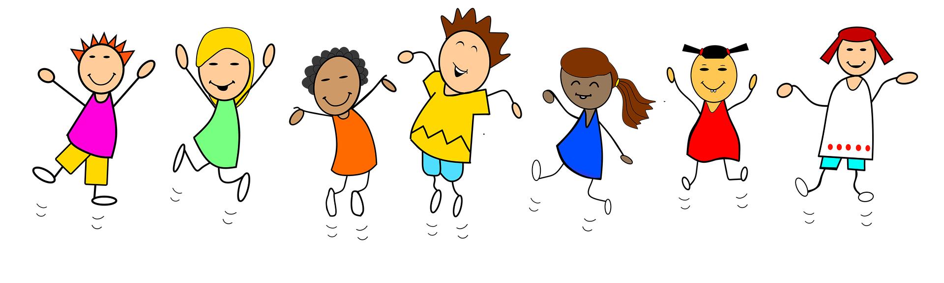 Freudige Kinder freie Pixabay